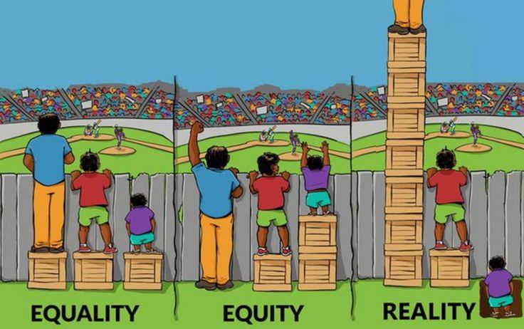 Egalité, équité et... réalité