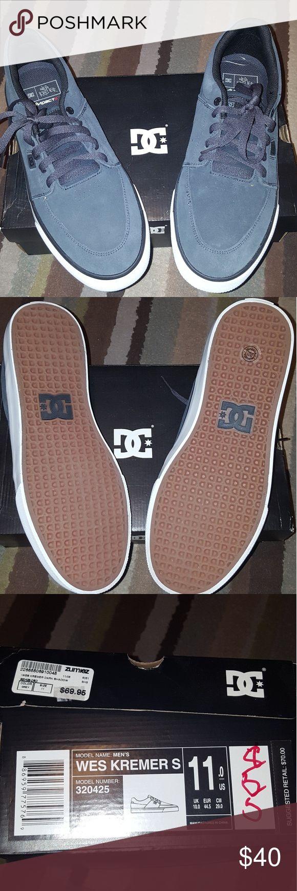 Brand New Men's DC Sneakers. Brand new men's navy blue DC sneakers in size 11. DC Shoes Sneakers