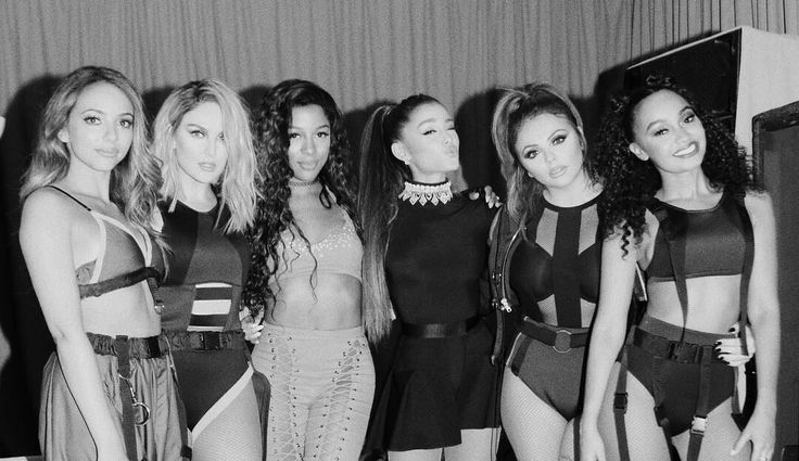 Ariana grande and little mix