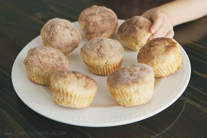 Applesauce Muffins : A Favourite Family Recipe - simple as that