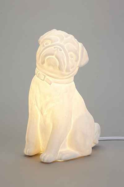 Pug Table Lamp Urban outfitters, Pug and Lamps