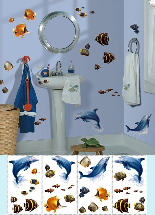 kids bathroom stickers 70 best images about nautical wall decals on 13349