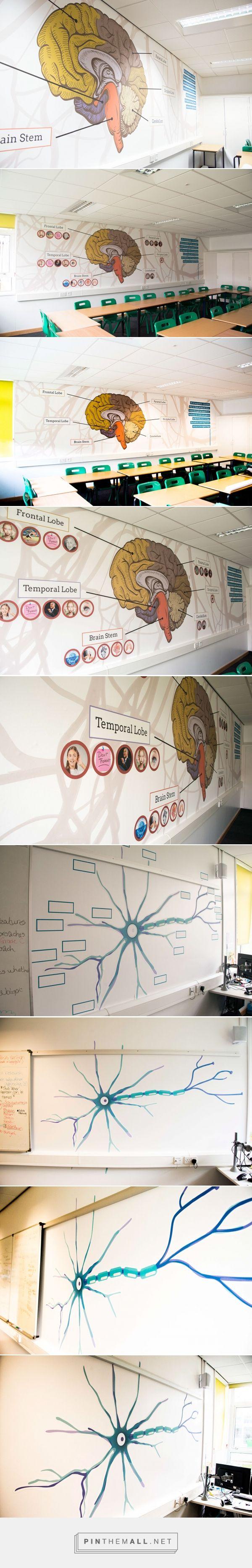 Psychology Classroom Design on Behance - by Andrew Heffernan