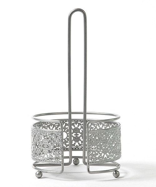 Take a look at the AQ Victorian Lace Paper Towel Holder on #zulily today!