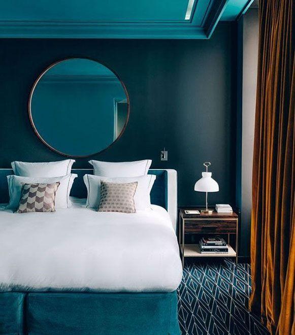Chambre Bleu Canard Toutes Nos Idees Pour Une Decoration Reussie Deco Chambre Bleu Decoration Chambre Bleue Chambre Bleu