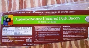 family LOVES bacon, whole foods has a super fantastic applewood smoked one... thick and tasty... we bake the whole pack at once and eat all weekend