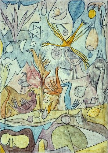 Paul Klee   Flock of Birds, 1917
