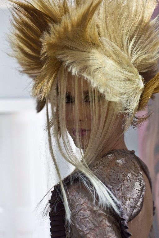 Hairstyle AhKim Anthony Tan of Ah Kim Art of Hair. MUA Steph Tee Model Danielle Scoins Pope  of Ikon Model - Sydney Photographer Tina Lambert