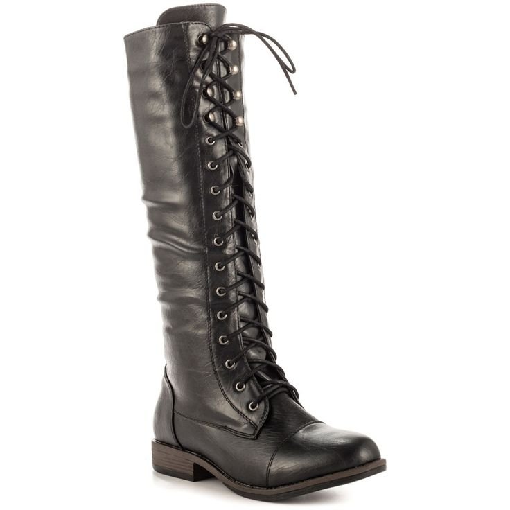 141.55$  Buy now - http://aliejg.worldwells.pw/go.php?t=32567052492 - Black Flat Knee High Soft Leather Long Womens Military Boots Womens Shoes botas mujer Boots For Women Made-to-order Handmade US4