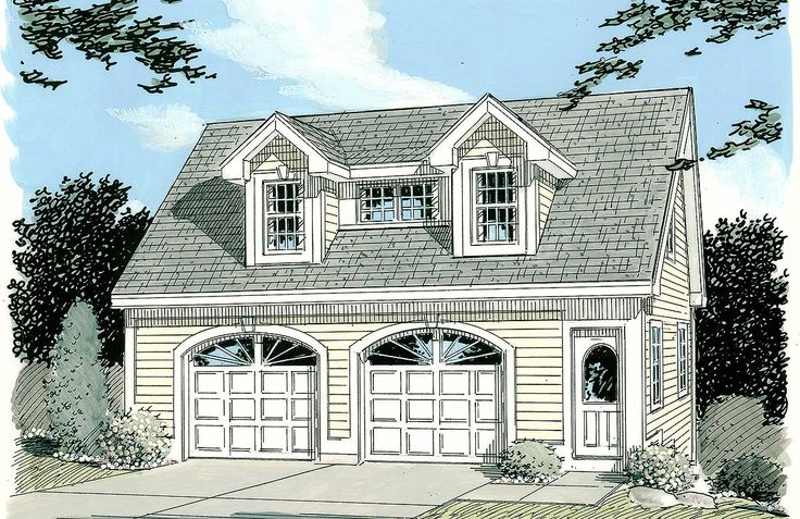 Plan 3792tm Simple Carriage House Plan Carriage House