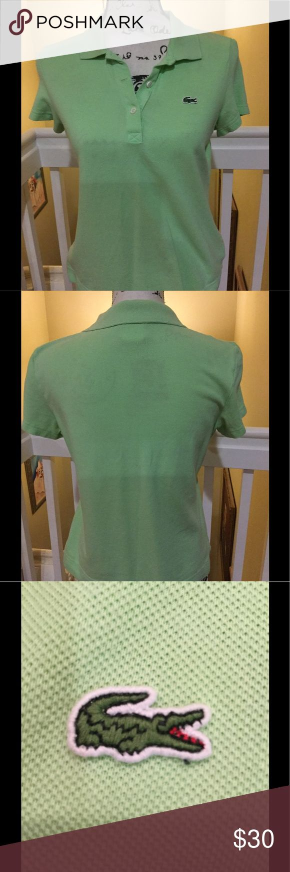 Woman Lacoste Polo Shirt Woman Lacoste Polo Shirt. Worn several times. Great condition. Lacoste Tops