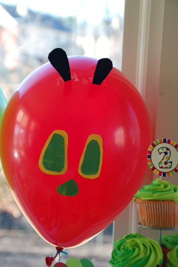 Very Hungry Caterpillar book party