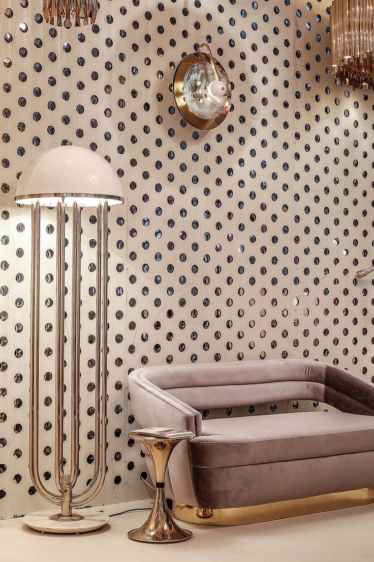 We love our light colors and golden details! Hall 7 is full of amazing design, so don't forget to drop by Stand E40 to check out our new collection!
