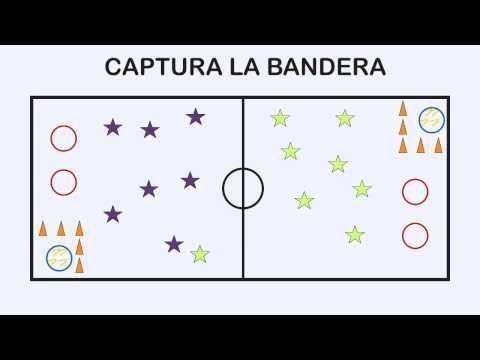 CAPTURA LA BANDERA - Juegos Educación Física - YouTube