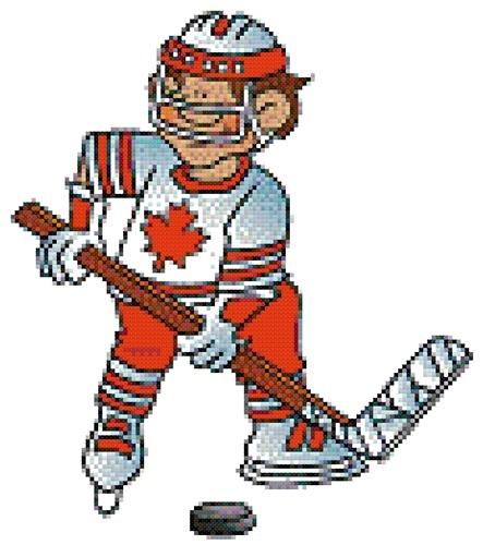 Canada's Sport cross stitch pattern