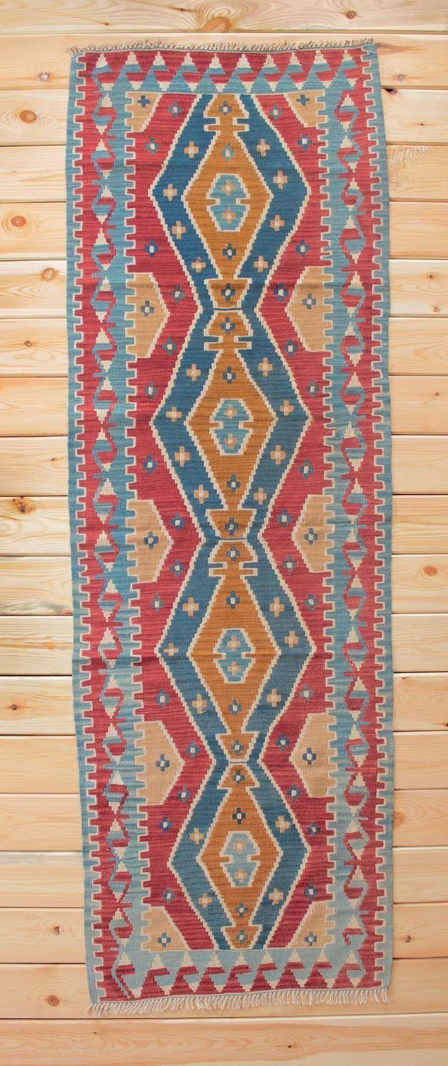 Turkish Rug Runner Boho Rug 2.85 x 8.69 ft Turkish Kilim Runner Rug Kilim Rug Area Rug Kitchen Runner Bohemian Decor Kilim Ottoman Wool Rug by Rugsnrunners on Etsy