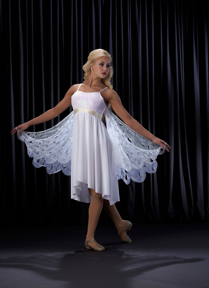 This would look beautiful more for a solo routine:)