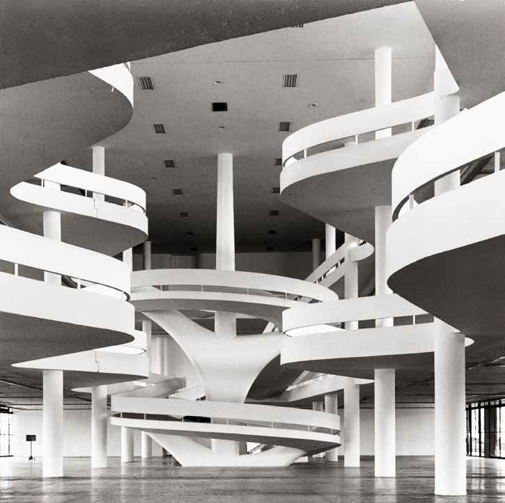 Pabellón Ciccillo Matarazzo / Oscar Niemeyer. © Andrés Otero