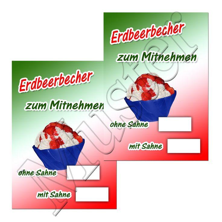#Erdbeerbecher #Plakat