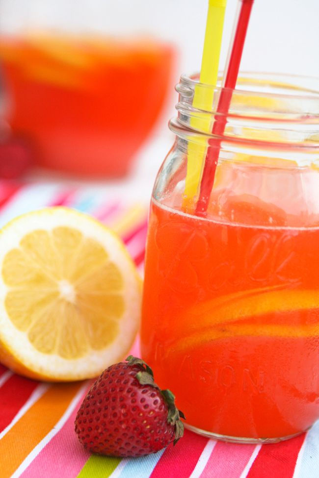 Strawberry Lemonade | Recipe