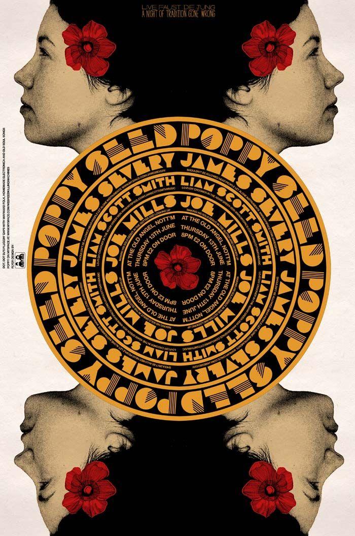 Poppy Seed Poster, Kristian Goddard