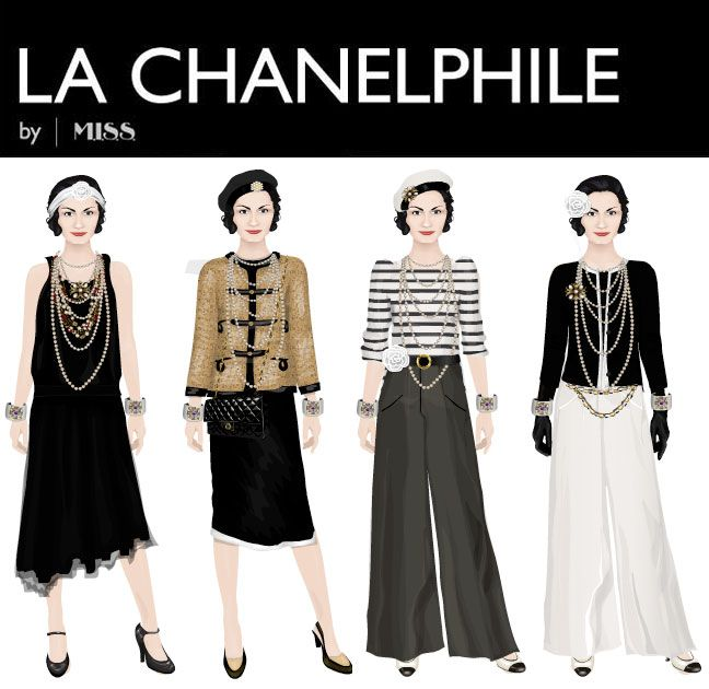 coco+chanel+style | Style Icons: Coco Chanel