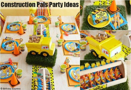 birthday party ideas construction party forward construction party ...