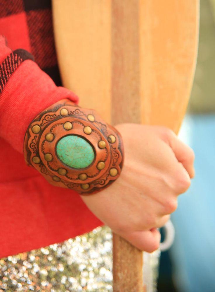 the TRAILBLAZER turquoise cuff {junk gypsy co}