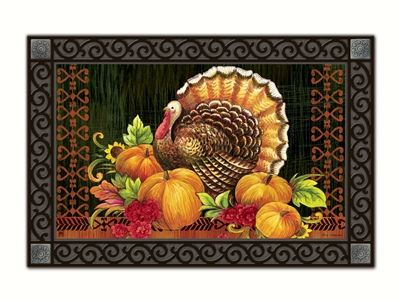 Give Thanks Turkey Matmate Can Be Used Stand Alone Or As
