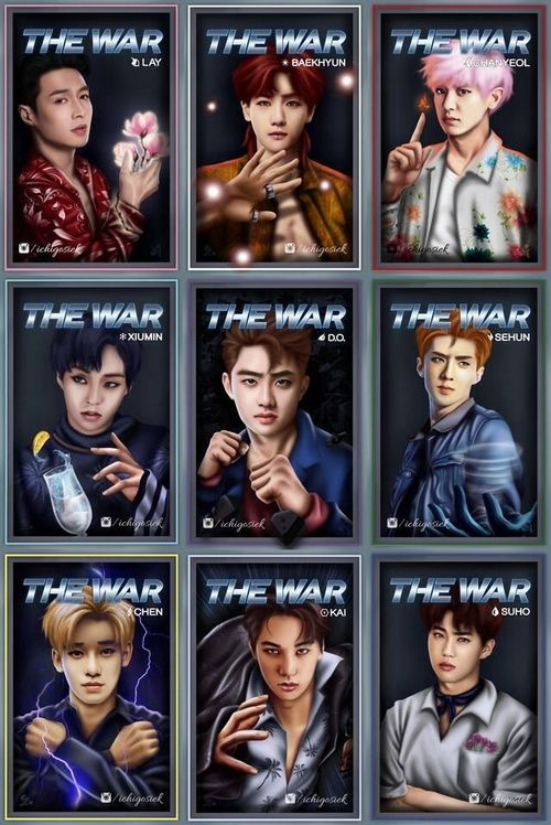 EXO Power Teaser.  Cre: the owner/as logo on We Heart It