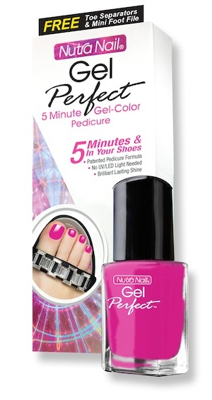 Preview: Nutra Nail Gel Perfect Walk On The Wild Side Polish Collection: How To Get A Gel Pedicure In 5 Minutes