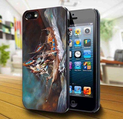 Ship Adventurous iPhone 5 Case   kogadvertising - Accessories on ArtFire