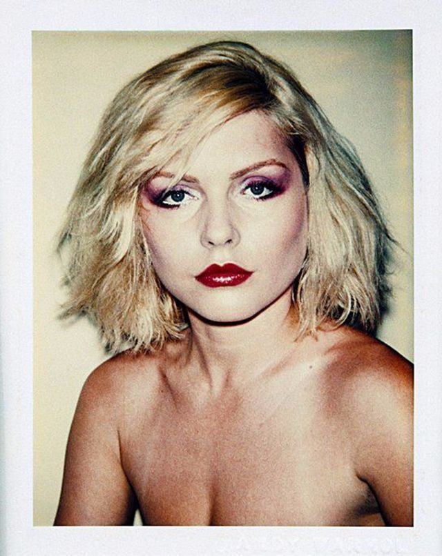 vintage everyday: No Photoshop or Instagram Needed, Stunning Polaroids of Blondie Front-Woman Debbie Harry Taken by Andy Warhol in 1980