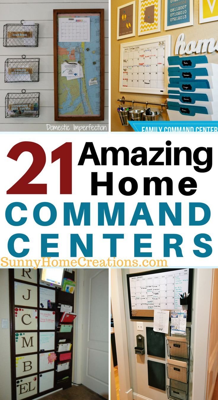 21 amazing command centers.  There are some great ideas in here!