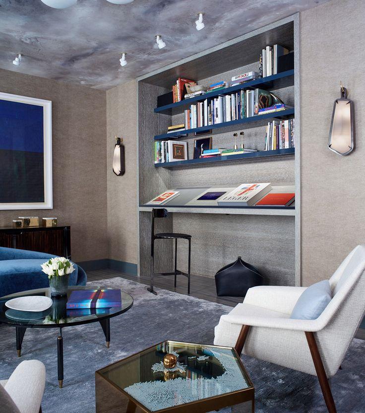 Interior designer Eve Robinson featured Savile Suiting