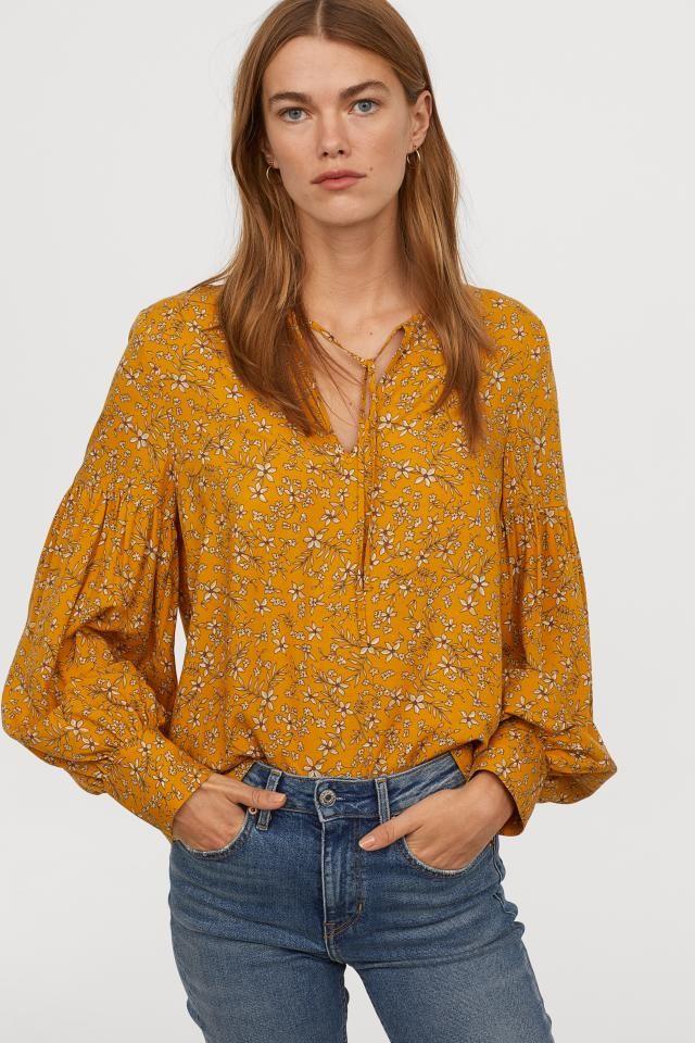 Desenli Bluz 2020 Moda Stilleri Bluz Kadin