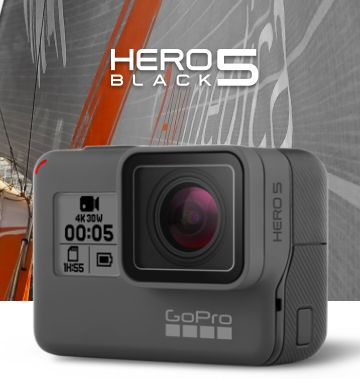 Simply the best GoPro, Ever.  HERO5 Black is the most powerful and easy-to-use GoPro ever, thanks to its 4K video, voice control, one-button simplicity, touch display and waterproof design.  Smooth stabilized video, crystal-clear audio and pro-quality photo capture combine with GPS to make HERO5 Black simply the best GoPro. And when it's time to edit and share, HERO5 Black automatically uploads footage to your GoPro Plus cloud account to provide easy access on your phone.