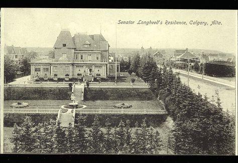 Postcard 10297: Bloom Bros, Senator Lougheed's residence, Calgary, Alta. (cca. 1912)