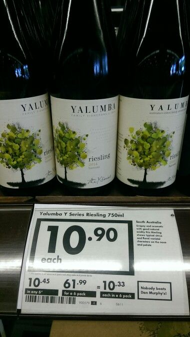 Yalumba Y series are always good little grabs i like to have in my wine rack. Always good for under $15 and some times you can get them in a 2 for deal