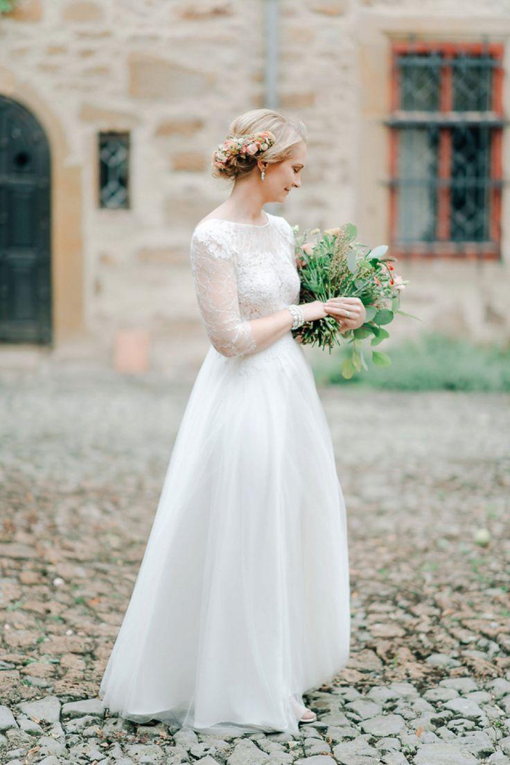 castle blog looking alternative traditional wedding