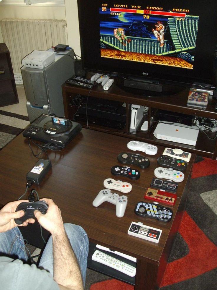 Adaptateur-MVGS2-Genesis-Megadrive-32x-Megapcd-Megapc-Edition-avec-Pad-Sega-Saturn