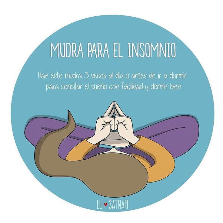 Mudra para el insomnio #yoga
