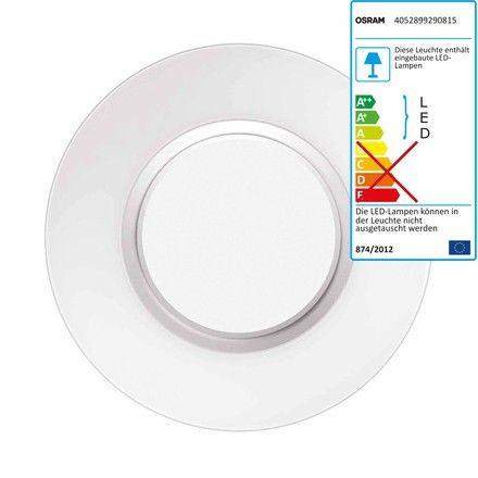 Best Osram Lightify Surface Light Decken und Wandleuchte cm Silber H