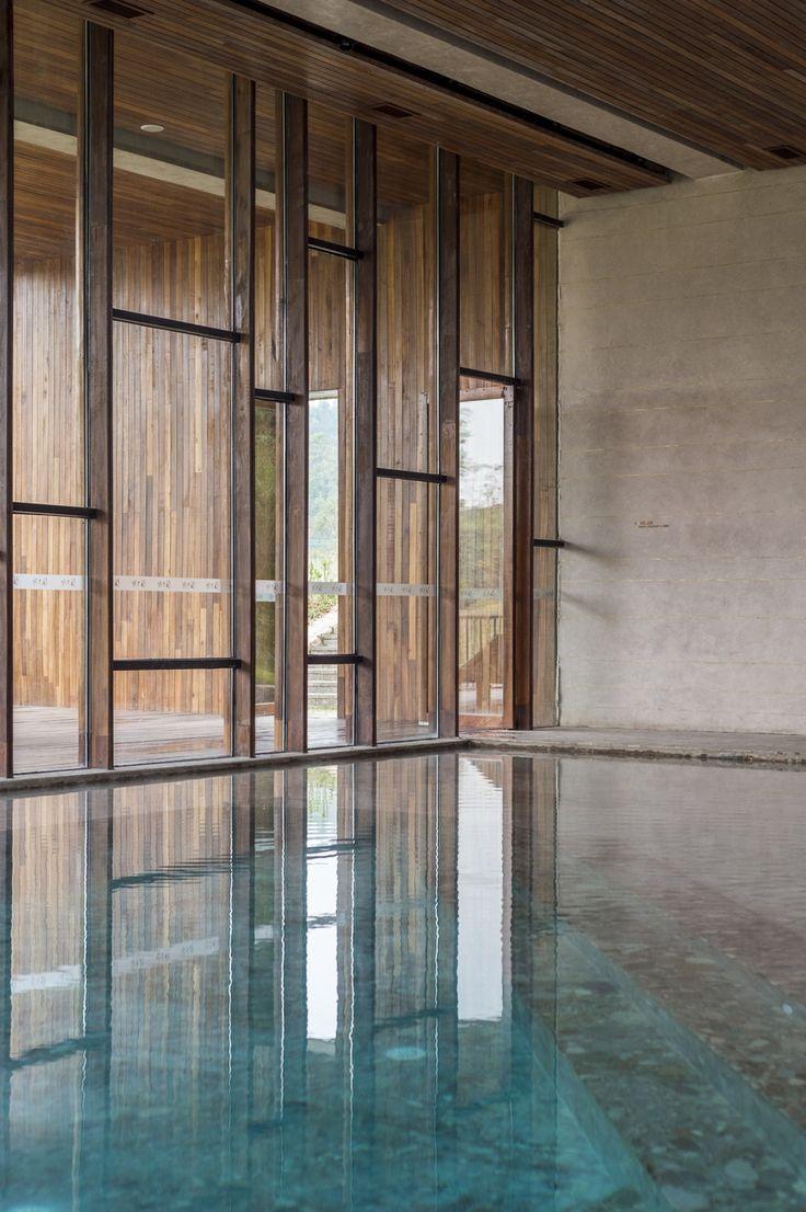 Resortlandschaft in China / Regionalismus am Bergfuß - Architektur und Architekten - News / Meldungen / Nachrichten - BauNetz.de