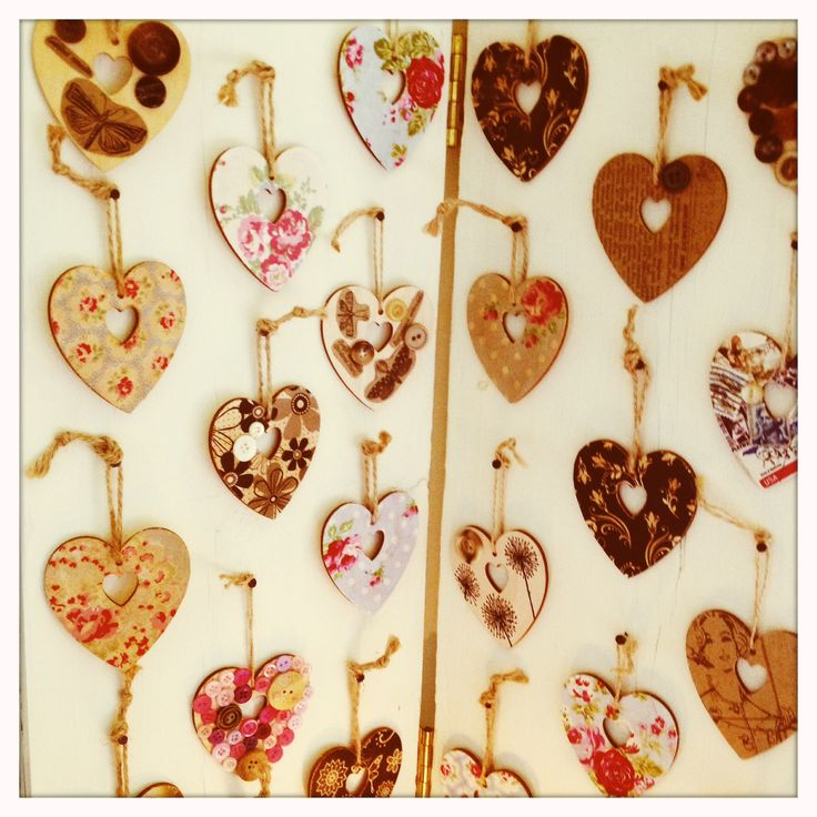 Hearts £4 each 3 for £12