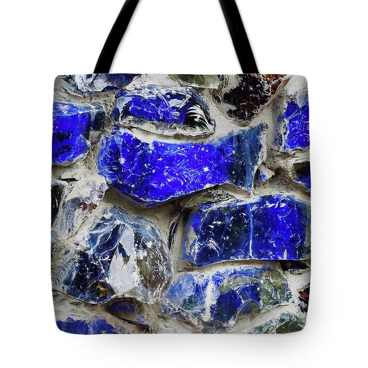 Blue Wall Tote Bag by Svetlana Iso.  The tote bag is machine washable, available in three different sizes, and includes a black strap for easy carrying on your shoulder.  All totes are available for worldwide shipping and include a money-back guarantee. #SvetlanaIso #SvetlanaIsoFineArtPhotography #Photography #ArtForHome #InteriorDesign #Bags #Blue #Wall