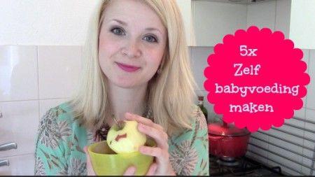 5x zelf babyvoeding (groentehapje en fruithapje( maken video (super eenvoudig!) In deze video laat ik 5 makkelijke babyvoeding maaltijden zien die ik zelf maak. Gezond, goedkoop, lekker