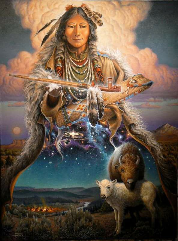 White Buffalo Calf Woman by Charles Frizzell.jpg