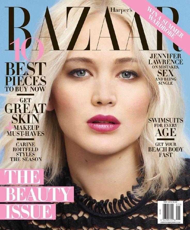 Jennifer Lawrence – Harper's Bazaar Magazine Photoshoot : Global Celebrtities (F) FunFunky.com