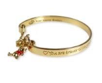 Disney Couture Winnie The Pooh Bangle Bracelet
